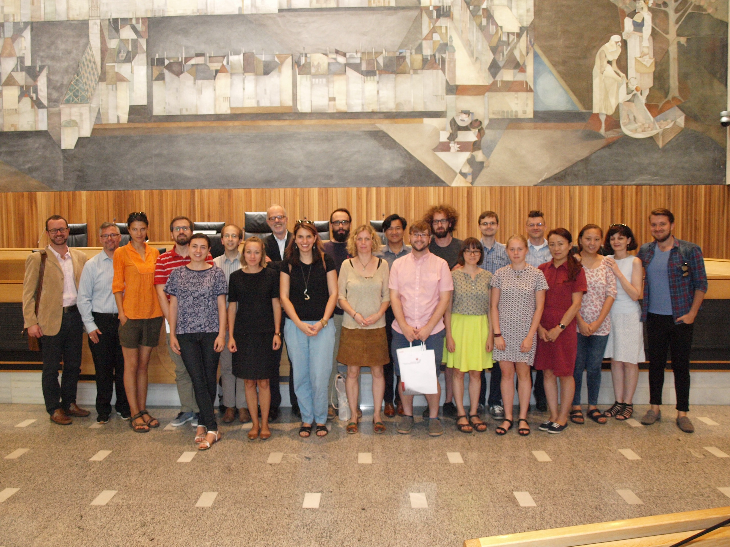 Two researchers from the Tibet Policy Institute attended Eurac summer school