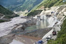 An upper Mekong dam underway. Photo: Michael Buckley