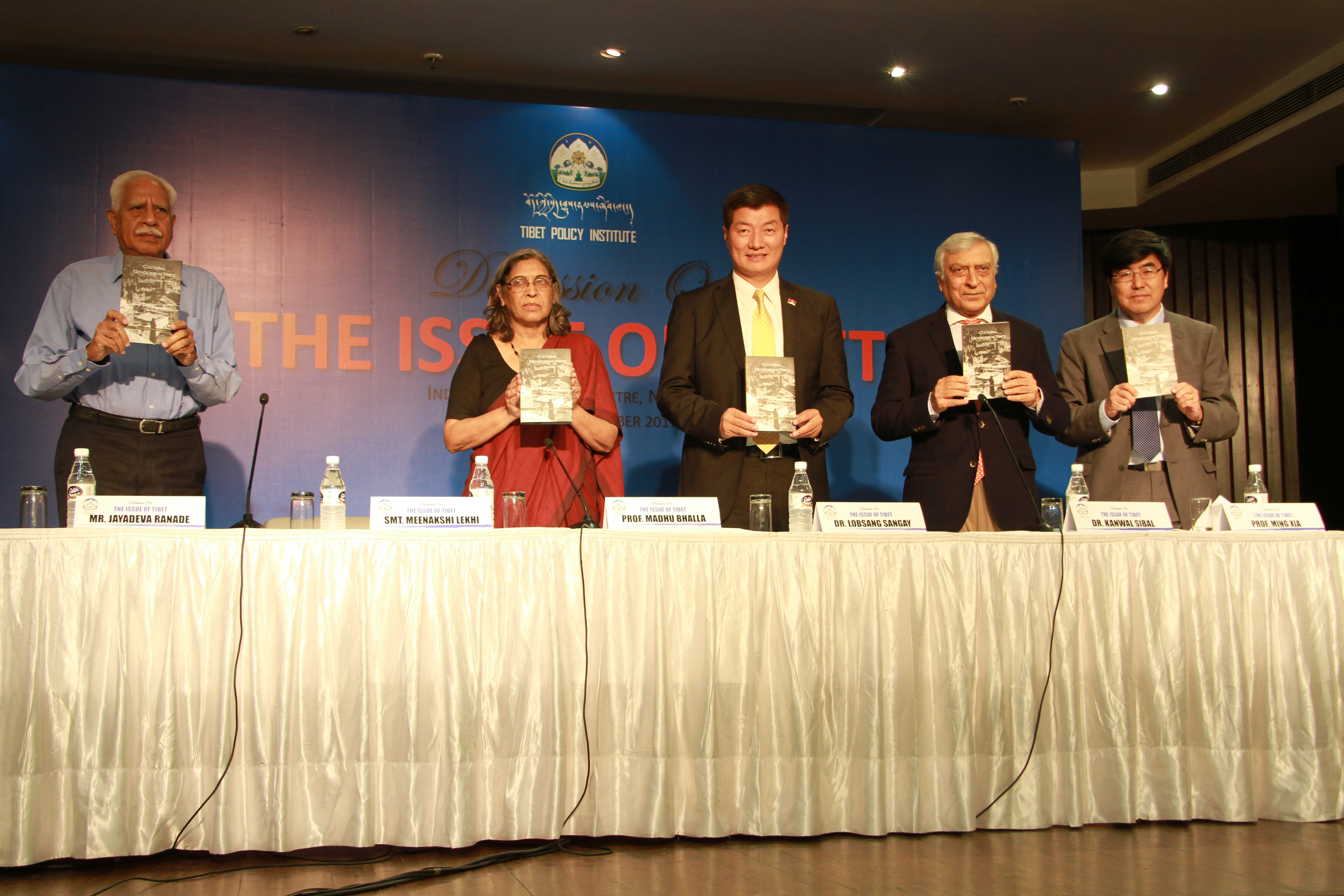 CTA President Launches Report on Cultural Genocide in Tibet, Participates in Discussion on Issue of Tibet