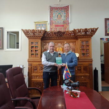 BOOK ON TIBET BY RUSSIAN ACADEMY OF SCIENCE RELEASED IN MOSCOW